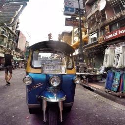 Finally in Bangkok