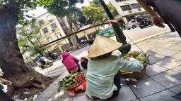 One day in Hanoi, Vietnam